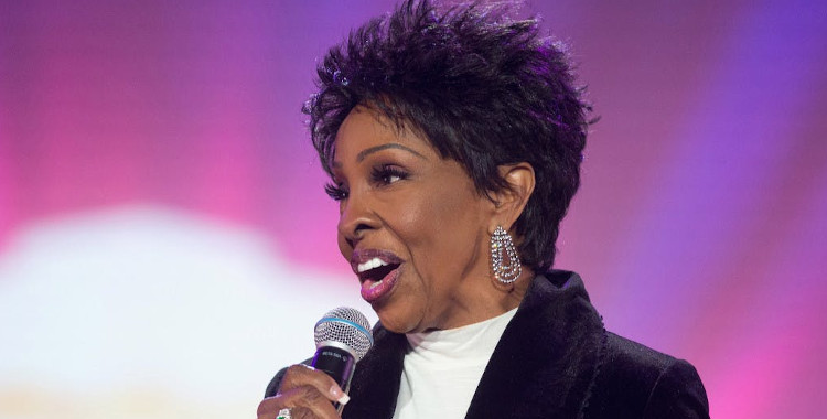 Gladys Knight with Microphone