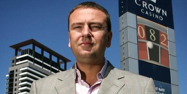 Harry Kakavas at Crown Casino Melbourne
