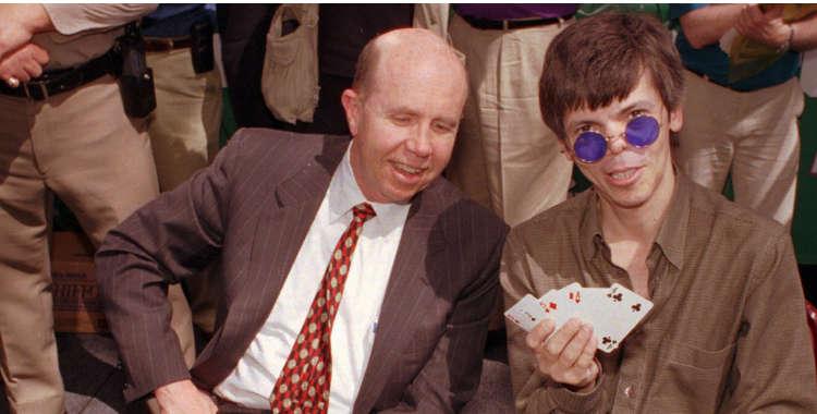 Stu Ungar 3 times WSOP winner