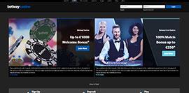 betway casino screenshots