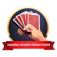making money from gambling badge