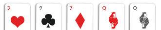 one pair card hand omaha