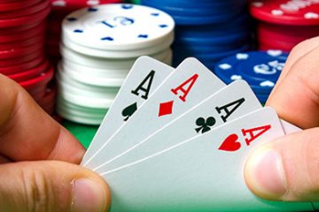 poker guides cards in hands