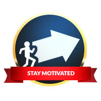 stay motivated poker betting badge