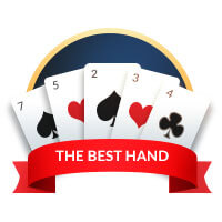 triple draw poker best hand badge